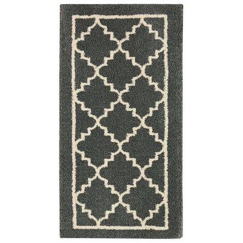 home accent rug collection home decorators collection winslow dark slate 2 ft x 4 ft