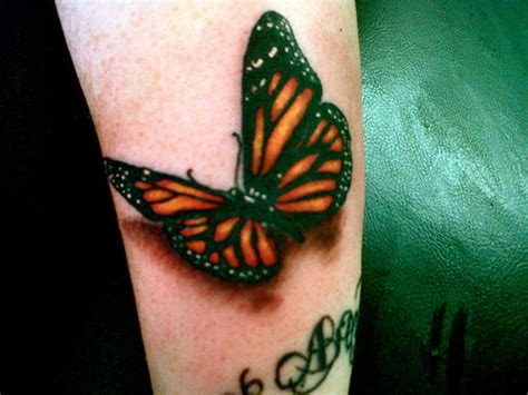 3d Butterfly By Nathan241087 On Deviantart 3 D Tattoos Butterfly