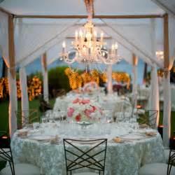 Chandelier Weddings Four Seasons Feminine Decor At An Outdoor Wedding In Hawaii Four Seasons Magazine
