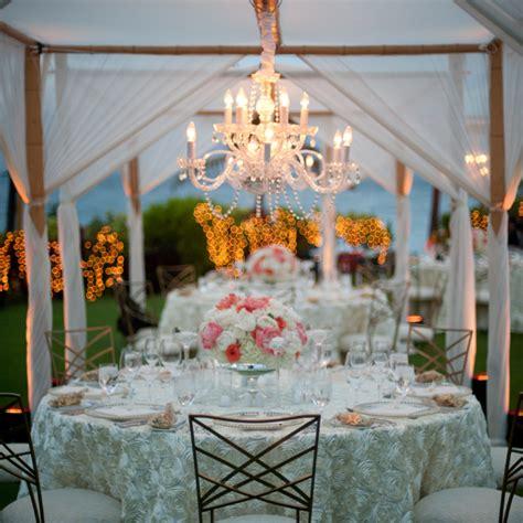 Chandelier For Wedding Four Seasons A Resort Island Wedding In Real Weddings Four Seasons Magazine
