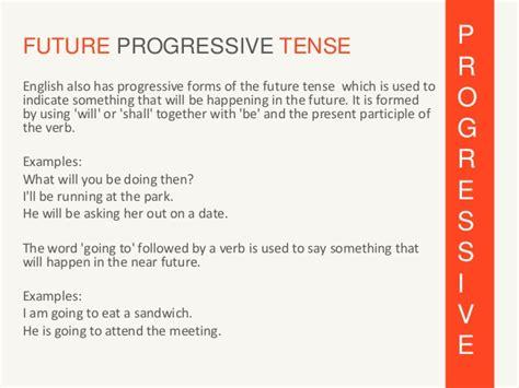 pattern of future progressive tense french future tenses