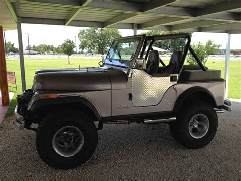 Jeep Cj For Sale By Owner 1981 Jeep Cj 5 Classic Car By Owner In Lake Arthur La 70549