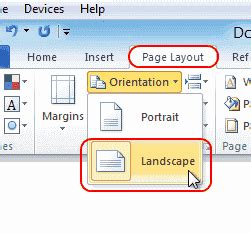 landscape layout on mac word word 2016 2013 how to make a single page landscape