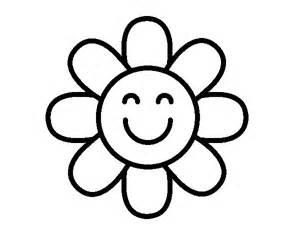 desenho flor simples colorir colorir