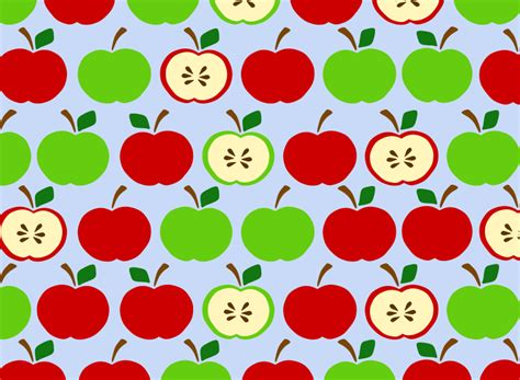 background pattern clipart clipart apples pattern blue