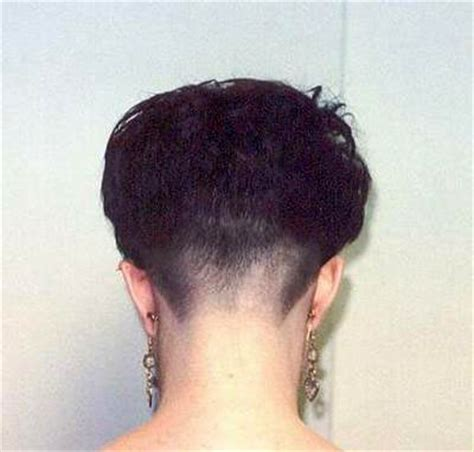tapered nape haircut pictures men how to taper womens neckline short hairstyle 2013