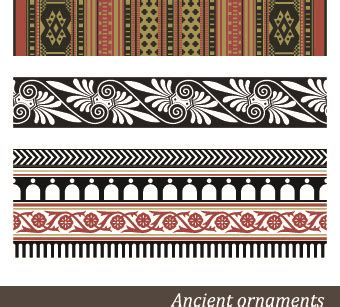 roman pattern vector patterns in ancient china free vector download 19 290