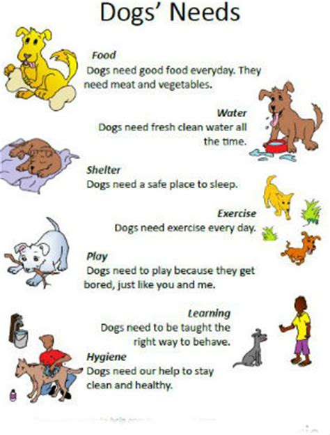 how for a to puppies what a needs language activity amrric