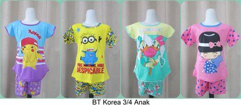 Grosiran Baju Anak Pusat Grosiran Baju Tidur Korean Anak Cp Pp 3 4 Murah