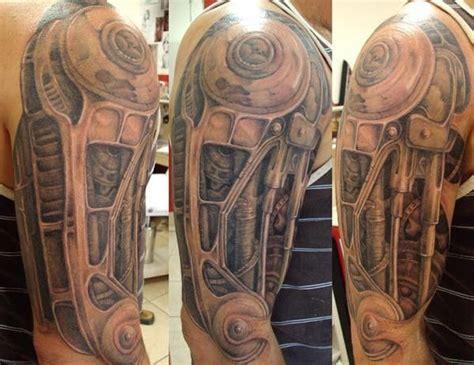 biomechanical tattoo montreal 10 badass biomechanical tattoos tattoo com
