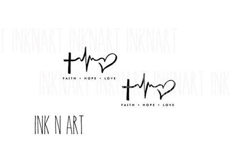 imagenes faith hope love die besten 17 ideen zu herzschlag tattoos auf pinterest