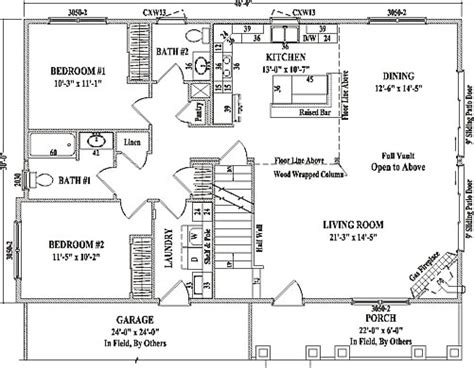 two story open floor plans bakersfield by wardcraft homes two story floorplan