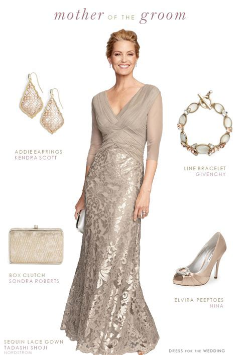 Beige Dress for the Mother of the Groom   CREATIVE WEDDING