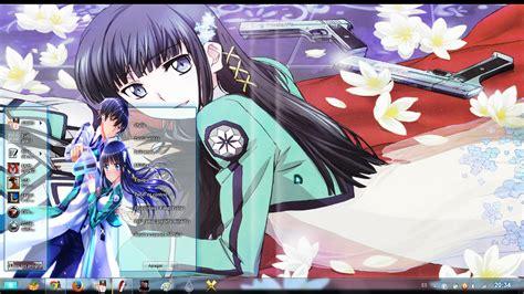 download theme windows 7 anime 2014 theme win 7 mahouka koukou no rettousei full glass by