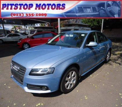 audi pre owned pretoria used audi a4 2 0t ambition multitronic for sale in gauteng