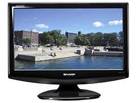 Tv Sharp Aquos 21 Inch sharp lc 19a35 aquos 19 inch lcd tv black