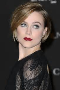 wood hairstyles evan rachel wood bob short hairstyles lookbook stylebistro