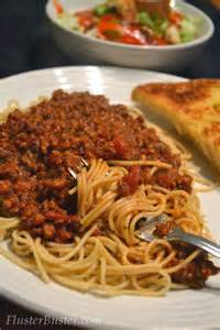 cheap and easy recipes spaghetti dinner feed 4 for 4 38 fluster buster