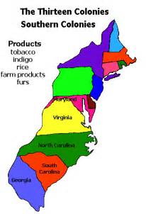map of the colony of lamb1 southern colonies map