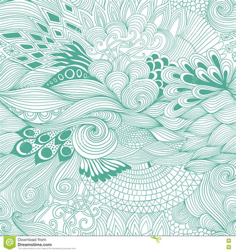 background zentangle colorful zentangle background vector illustration
