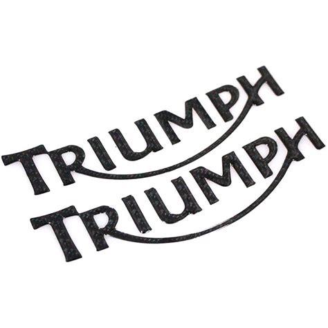 Aufkleber Triumph Logo by Kaufen Gro 223 Handel Triumph Aufkleber Aus China