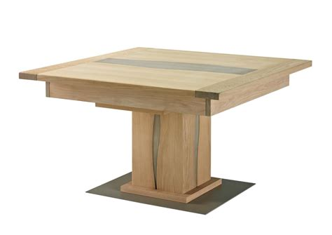 table pied central table avec pied central
