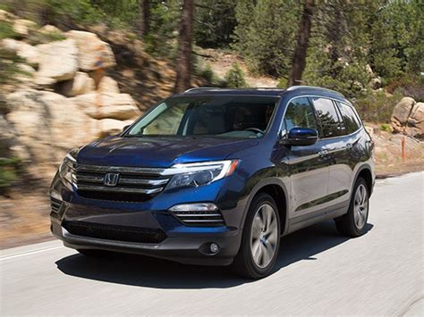 suv honda 2016 midsize suv comparison 2016 honda pilot kelley blue book
