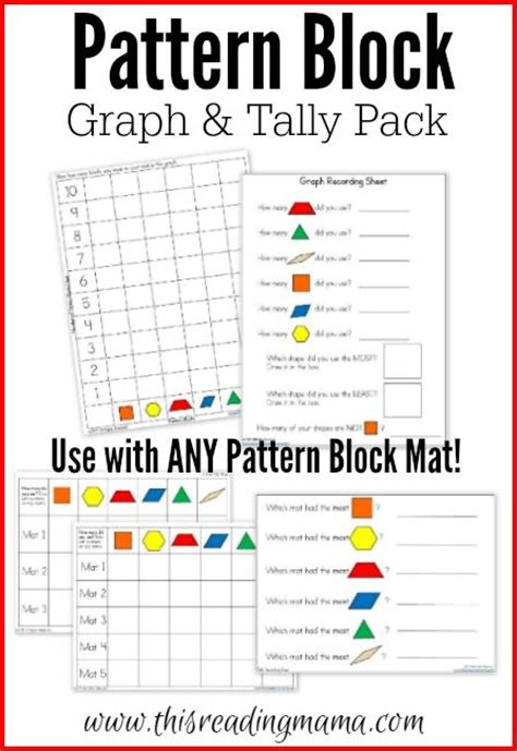 pattern block games 1st grade 202 best first grade hands on math activities images on