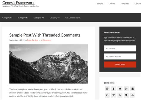 wordpress themes x framework 5 best premium professional wordpress themes for designers
