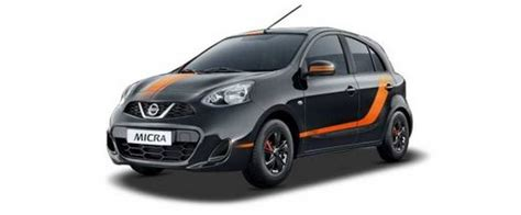 nissan micra india price nissan micra fashion edition launched in india price