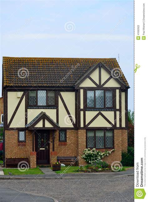 Small Tudor House english mock tudor house stock photo image 41692922