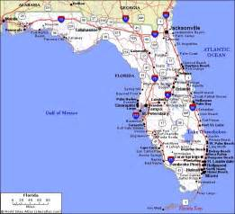florida map showing cities and towns only pictures florida cities