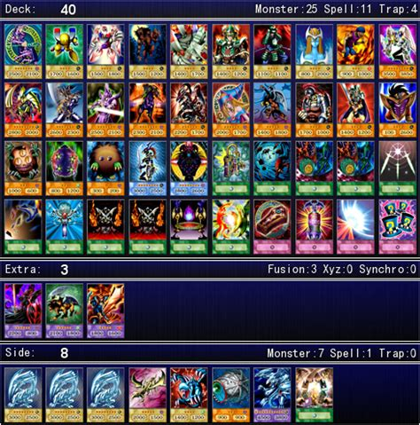 yugi deck liste yami yugi muto s deck for ygopro by