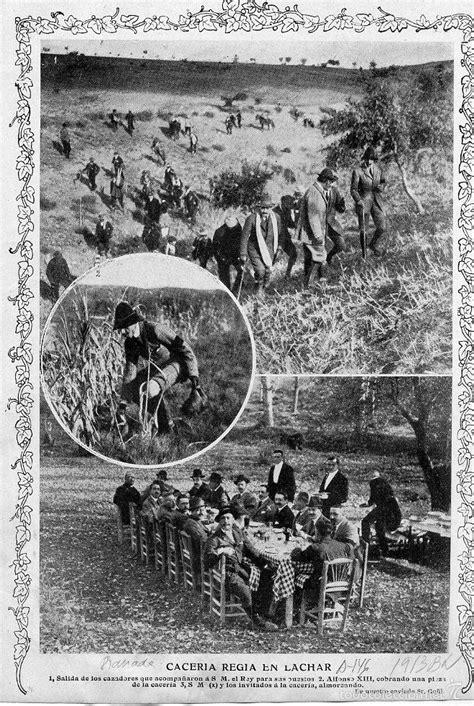 lachar 1913 caceria regia hoja revista - Comprar Revistas