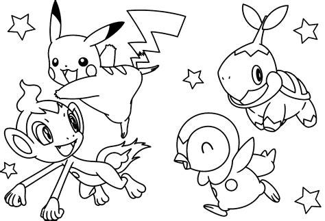 pikachu christmas coloring pages pikachu coloring pages free large images