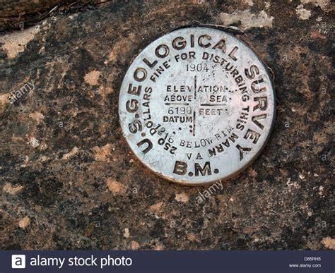 survey bench mark grand canyon national park arizona a u s geological