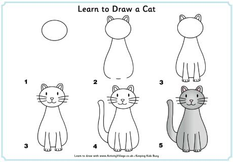 Drawing 8 Hours A Day by This Will Keep The Entertained For Hours Meow