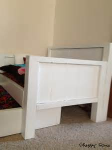 Diy Daybed With Trundle Bed White American Doll Trundle Day Bed Diy Projects