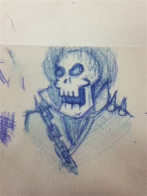 Ghost Rider Doodle By Zorasteam On Deviantart