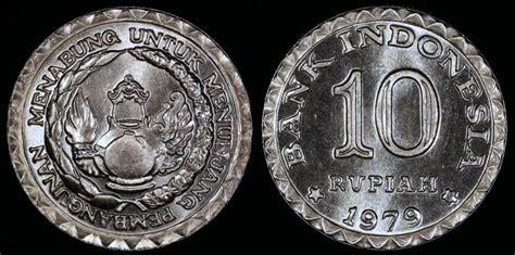 Money Coin Rp 10 Thn 1979 Indonesia 1979 indonesia 10 rupiah fao commemorative saving bu