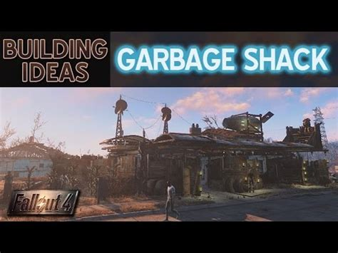 Settlement Building Ideas ? Garbage Shack ? Fallout 4