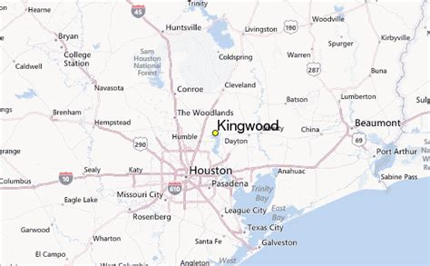 map of kingwood texas kingwood weather station record historical weather for kingwood texas