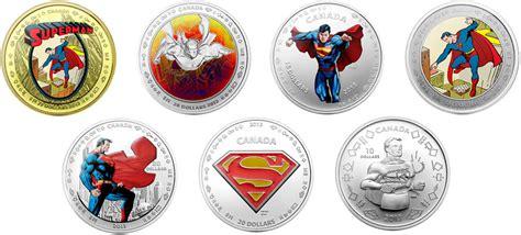Koin Coin Set Canada Superman Anniversary 75th anniversary of superman commemorative coins world mint coins