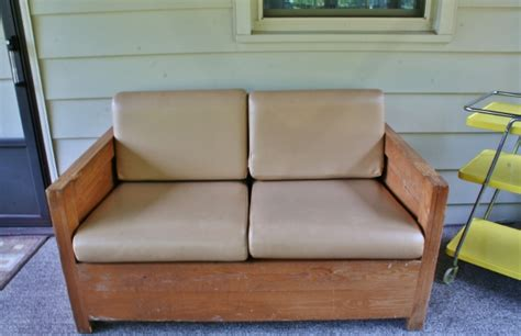 Cargo Furniture by Refinishing A Cargo Loveseat