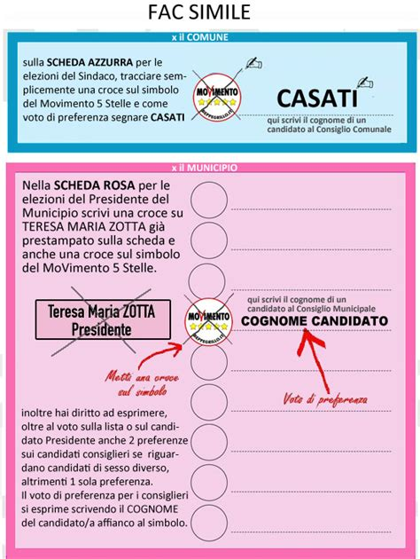 interno gov it come si vota come si vota movimento 5 stelle municipio xv roma