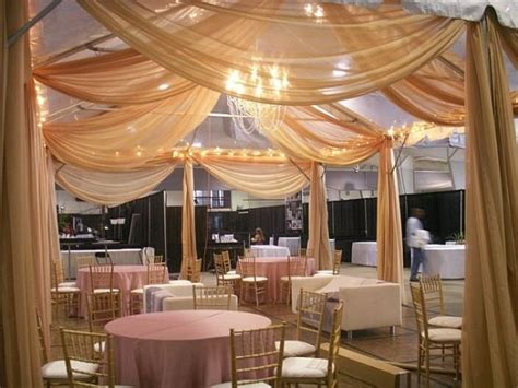 best fabric for wedding draping draping a tent help weddingbee