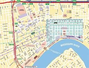 us quarter map printable map new orleans quarter printable images