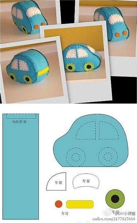 Pattern Felt Car | felt car pattern i bet you could use regular fabric too