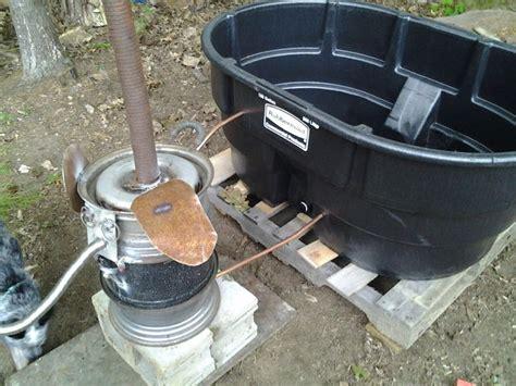 Wood Fired Bathtub by Homesteader Wood Fired Tub