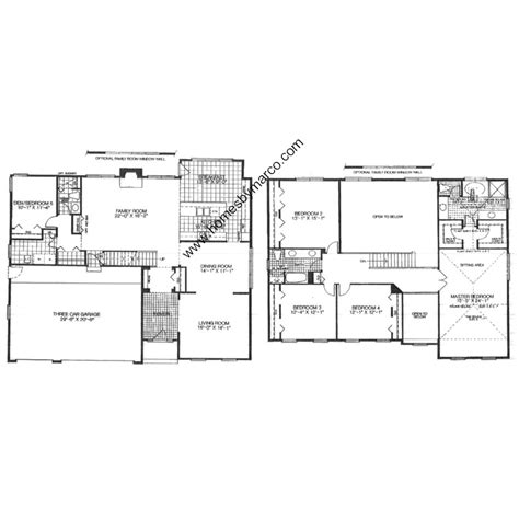 homes by marco floor plans regency woods subdivision in libertyville illinois homes for sale homes by marco